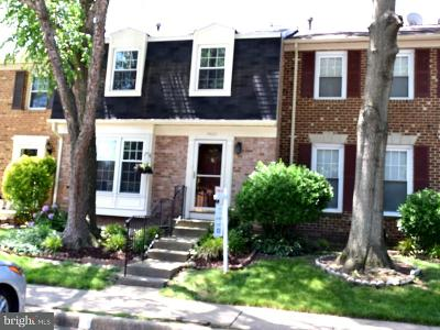 Annandale Townhouse For Sale: 7423 Fountain Head Drive