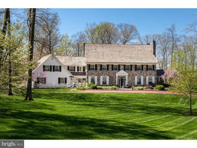 Bucks County Single Family Home For Sale: 8 Round Hill Road
