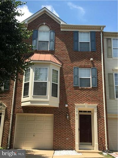 Lorton Townhouse For Sale: 7870 Dogue Indian Circle