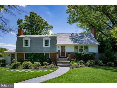Moorestown Single Family Home For Sale: 212 Parry Drive