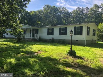 Spotsylvania Single Family Home Under Contract: 7724 Richmond Road