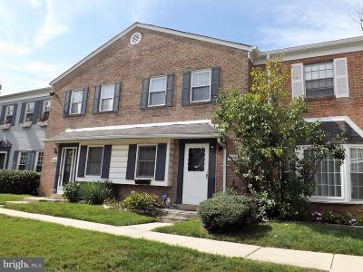 Greenbelt Townhouse Active Under Contract: 7826 Lakecrest Drive