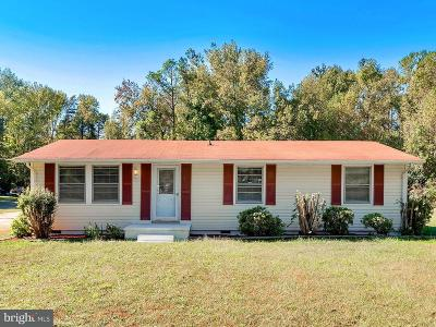 King George Single Family Home For Sale: 13446 James Madison Parkway