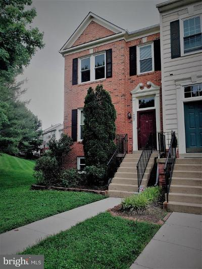 Ashburn Townhouse Under Contract: 19897 Upland Terrace