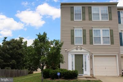 Fredericksburg Townhouse For Sale: 4615 Colonnade Way