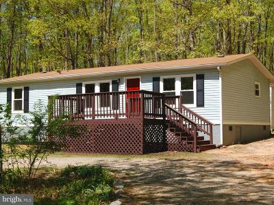 Spotsylvania Single Family Home Under Contract: 9714 Lawyers Road