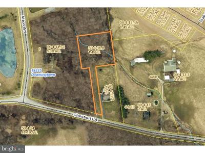 Downingtown Residential Lots & Land For Sale: 1959 Chestnut Lane