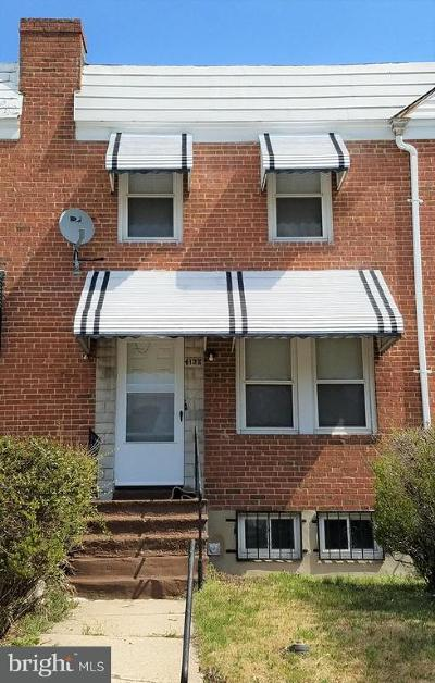 Baltimore MD Townhouse For Sale: $84,900