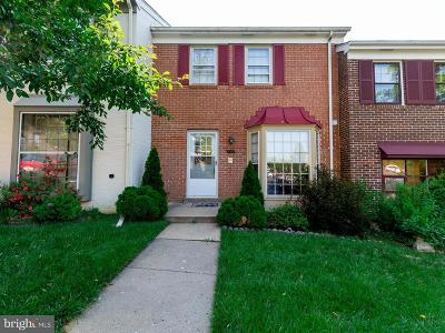 Annandale, Falls Church Townhouse For Sale: 4547 Pinecrest Heights Drive