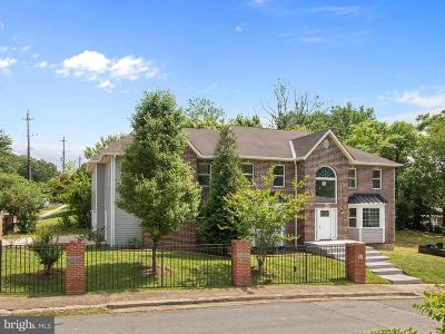 Suitland Single Family Home For Sale: 4941 Crosier Street
