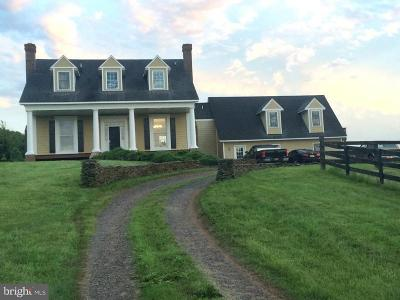 Culpeper Single Family Home For Sale: 3270 Rebel Ridge Lane
