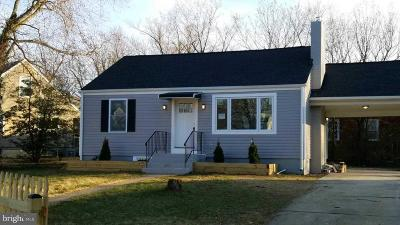 District Heights Single Family Home For Sale: 7401 Marion Street