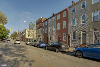 Fells Point Townhouse For Sale: 1739 Lombard Street