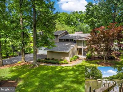 Annapolis Single Family Home For Sale: 2109 Harbor Drive