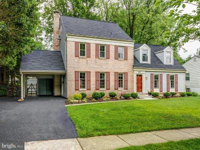 Rockville MD Single Family Home For Sale: $649,000