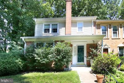 Burke, Springfield Townhouse For Sale: 9601 Blincoe Court