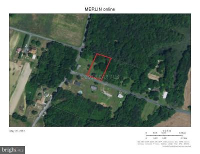 Wicomico County, WICOMICO COUNTY Residential Lots & Land For Sale: 21624 Deep Branch Road