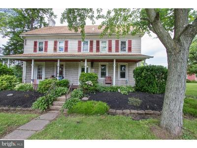 Gilbertsville Single Family Home For Sale: 2427 Swamp Pike