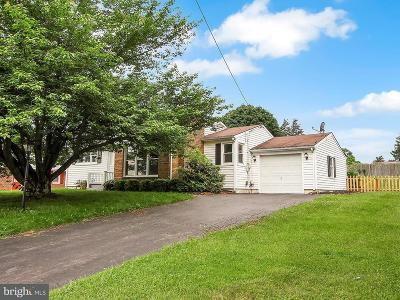 Dover Single Family Home For Sale: 1810 Oakley Drive