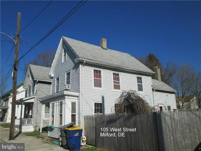 Milford Single Family Home For Sale: 105 West Street