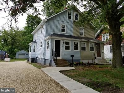 Moorestown Single Family Home For Sale: 477 N Church Street