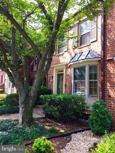 Annandale Townhouse Under Contract: 6817 Indian Run Court