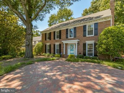 Alexandria VA Single Family Home For Sale: $1,050,000
