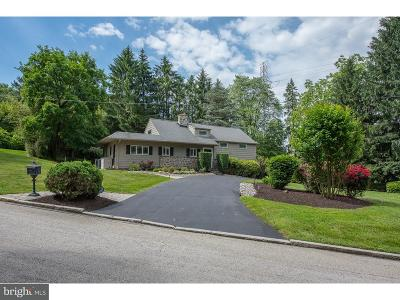 Villanova Single Family Home For Sale: 809 Matsonford Road