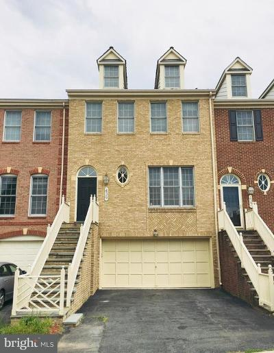 Rockville Townhouse For Sale: 439 Winding Rose Drive