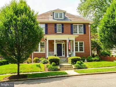 Chevy Chase Single Family Home For Sale: 3808 Garrison Street NW