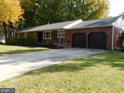 Cherry Hill Single Family Home For Sale: 1210 Severn Avenue