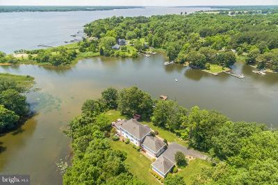 Dowell, Solomons Single Family Home For Sale: 500 Swaggers Point Road