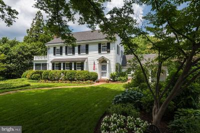 Chevy Chase Single Family Home For Sale: 19 Quincy Street