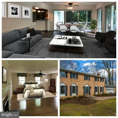 Fairfax Single Family Home For Sale: 11226 Bellmont Drive