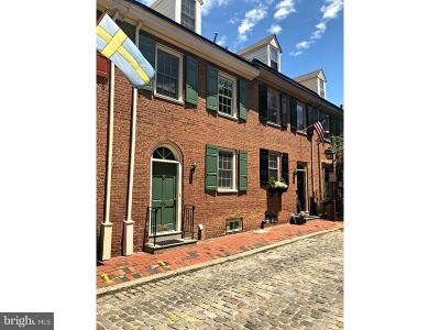 Society Hill Townhouse For Sale: 639 Addison Street