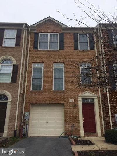 Ellicott City Townhouse For Sale: 8827 Montjoy Place