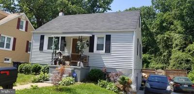Capitol Heights Single Family Home For Sale: 4611 Gunther Street
