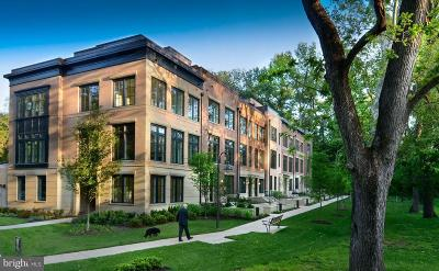 Chevy Chase Townhouse For Sale: 3645 Chevy Chase Lake Drive #BRADLEY
