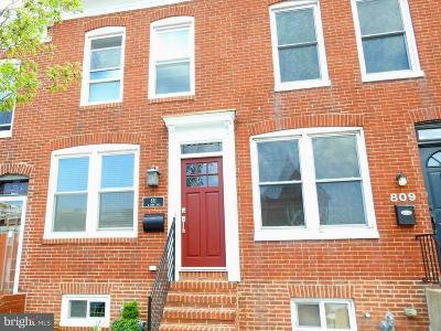 Baltimore MD Townhouse Under Contract: $344,900