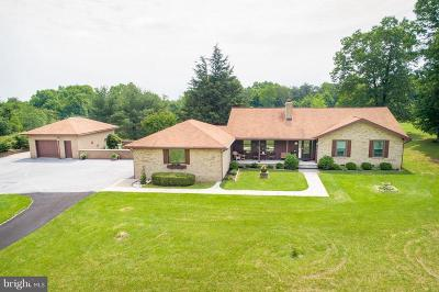 Hedgesville Single Family Home For Sale: 2744 Mountain Lake Road