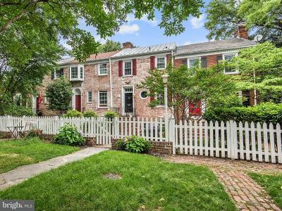 Alexandria Townhouse For Sale: 503 Franklin Street