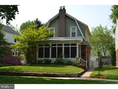 Ridley Park Single Family Home For Sale: 407 Cresswell Street