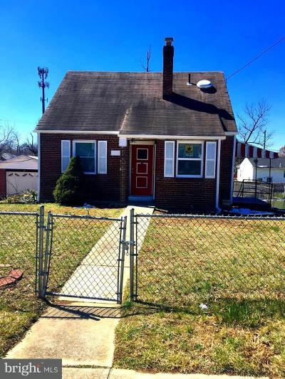 Capitol Heights Single Family Home For Sale: 1202 Nye Street