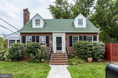 Silver Spring Single Family Home For Sale: 9411 Warren Street