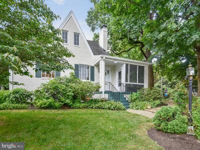 Silver Spring Single Family Home For Sale: 9101 Wire Avenue
