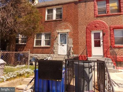Philadelphia PA Townhouse For Sale: $59,900