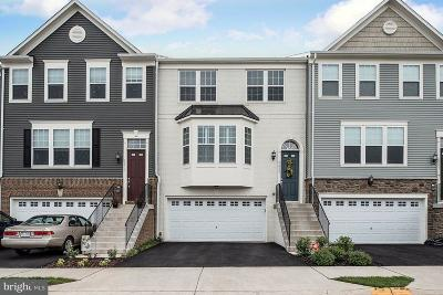 Manassas Townhouse For Sale: 8855 Milton Mill Way