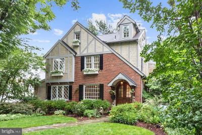 Chevy Chase Single Family Home For Sale: 4501 Elm Street