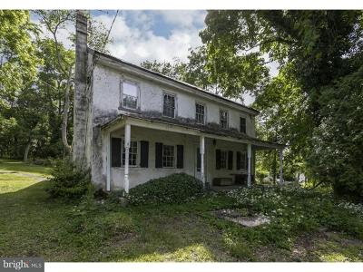Collegeville Single Family Home For Sale: 207 Godshall Road