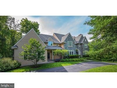 Gladwyne Single Family Home For Sale: 1124 Youngsford Road